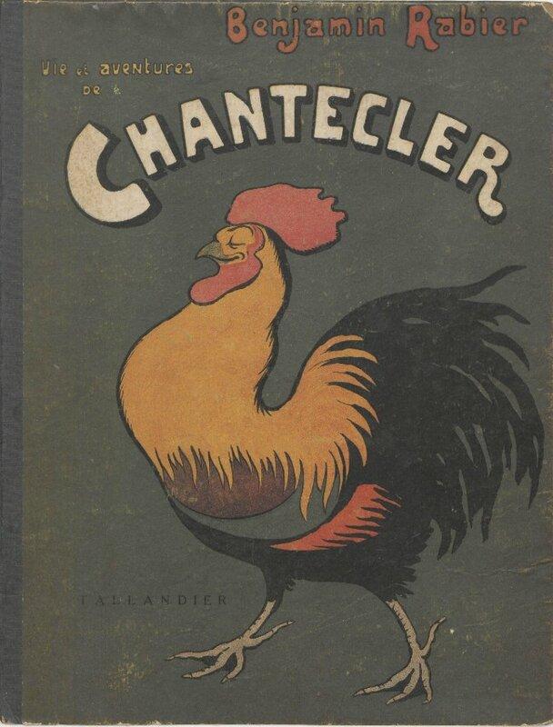 Benjamin Rabier Chantecler