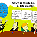 Europe, désaccords de principe (