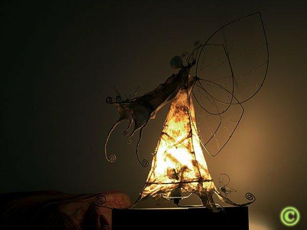 Galadriel la reine des f es papier de riz du vietnam for Lampe en papier de riz
