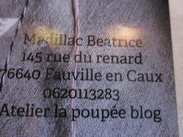 2015 - décembre - 5 et 6 - Salon Talent de Femmes de Rouen - Stand Béatrice Madillac (2)