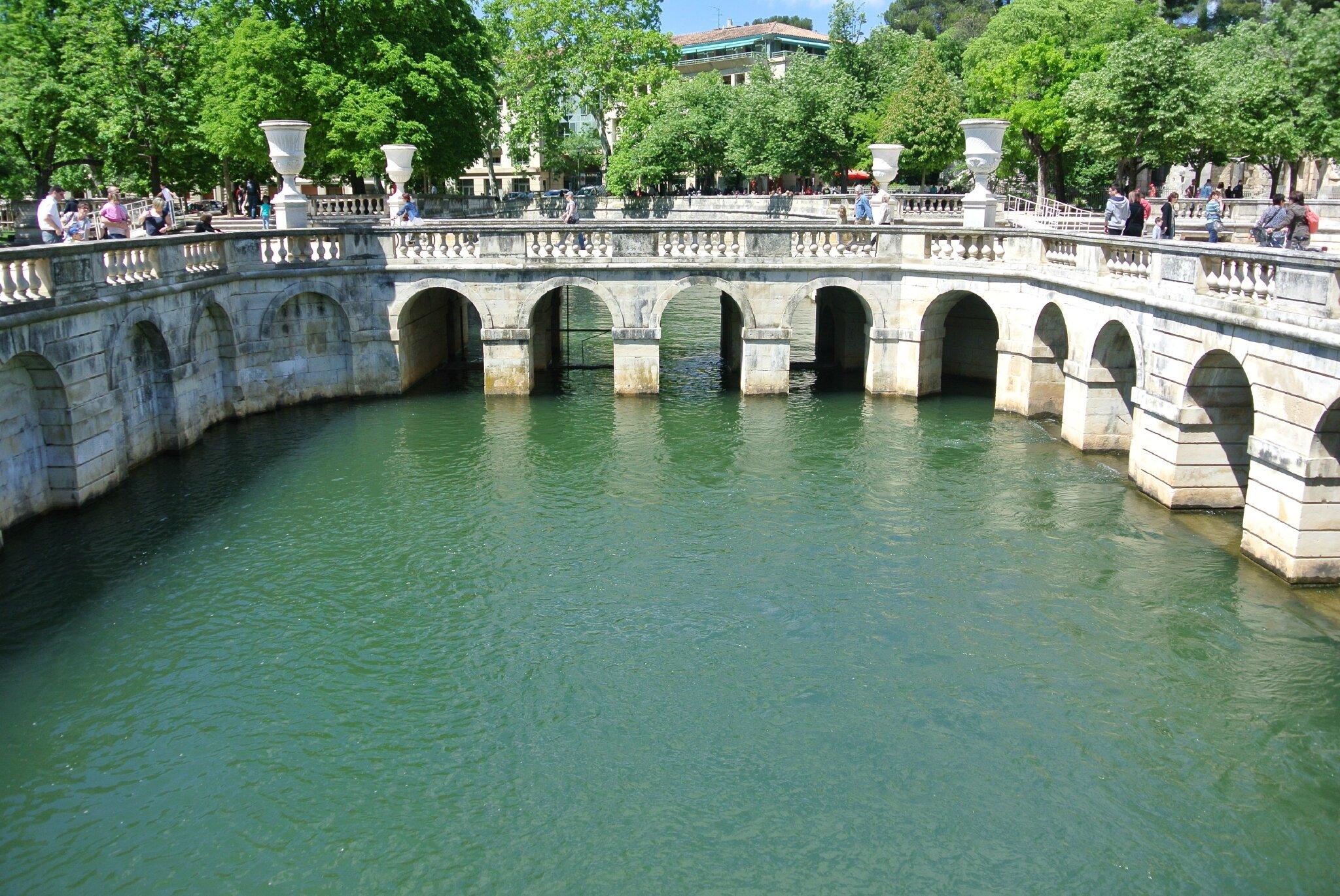 Les jardins de la fontaine n mes vivre partir for Le jardin zen nimes