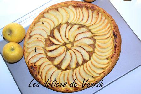 tarte fine aux pommes- golden- canelle