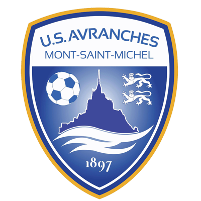 US Avranches Mont-Saint-Michel logo football