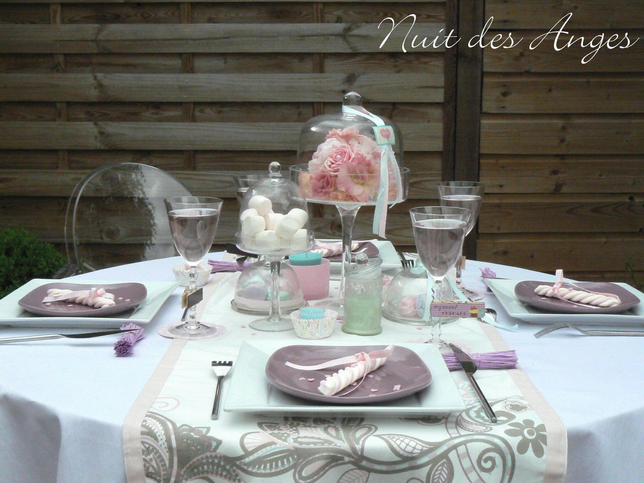 D coration de table gourmandise nuit des anges - Deco table gourmandise ...