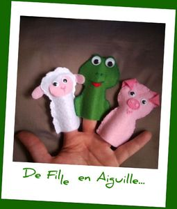Finger Puppets Animaux 1