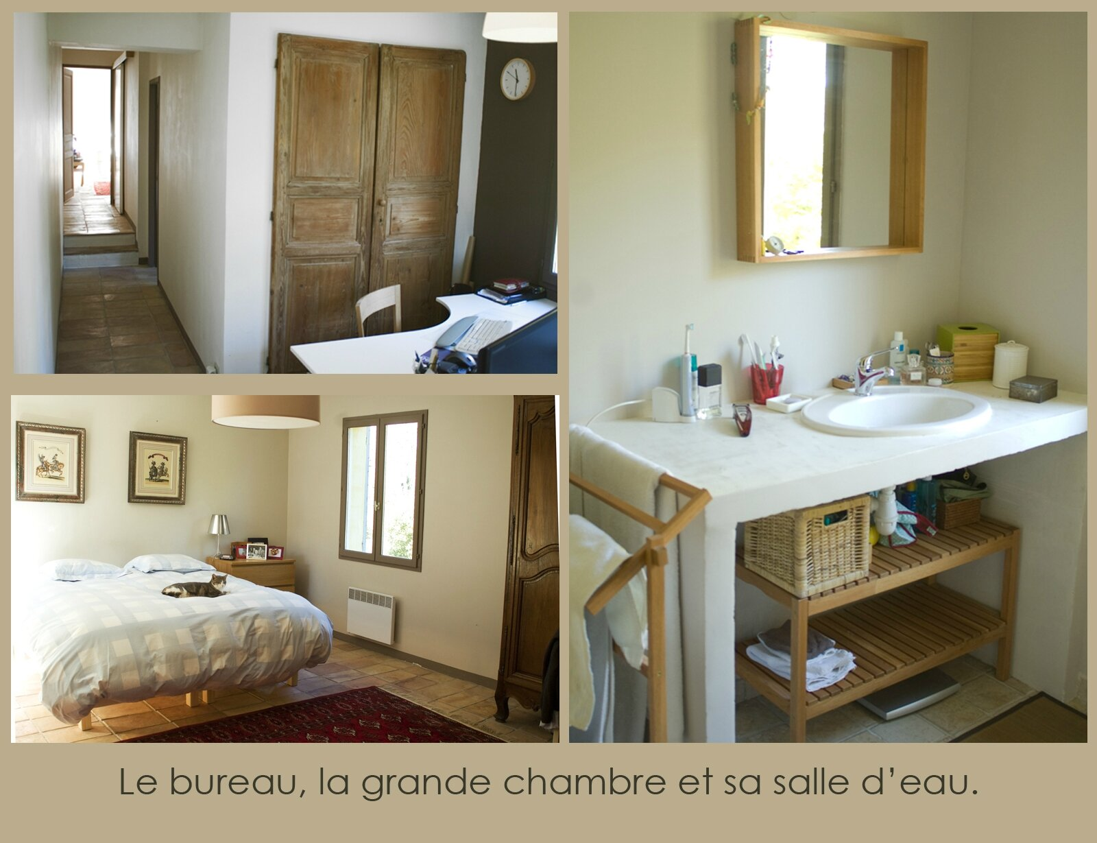 Suite parentale salle de bain dressing plan suite for Suite parentale dressing