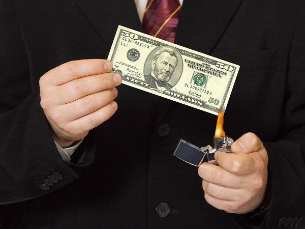 dollar-burn