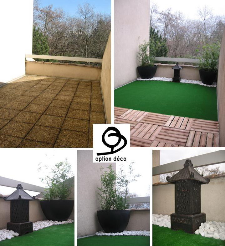 D co ext rieur une terrasse esprit zen option d co for Amenagement exterieur zen