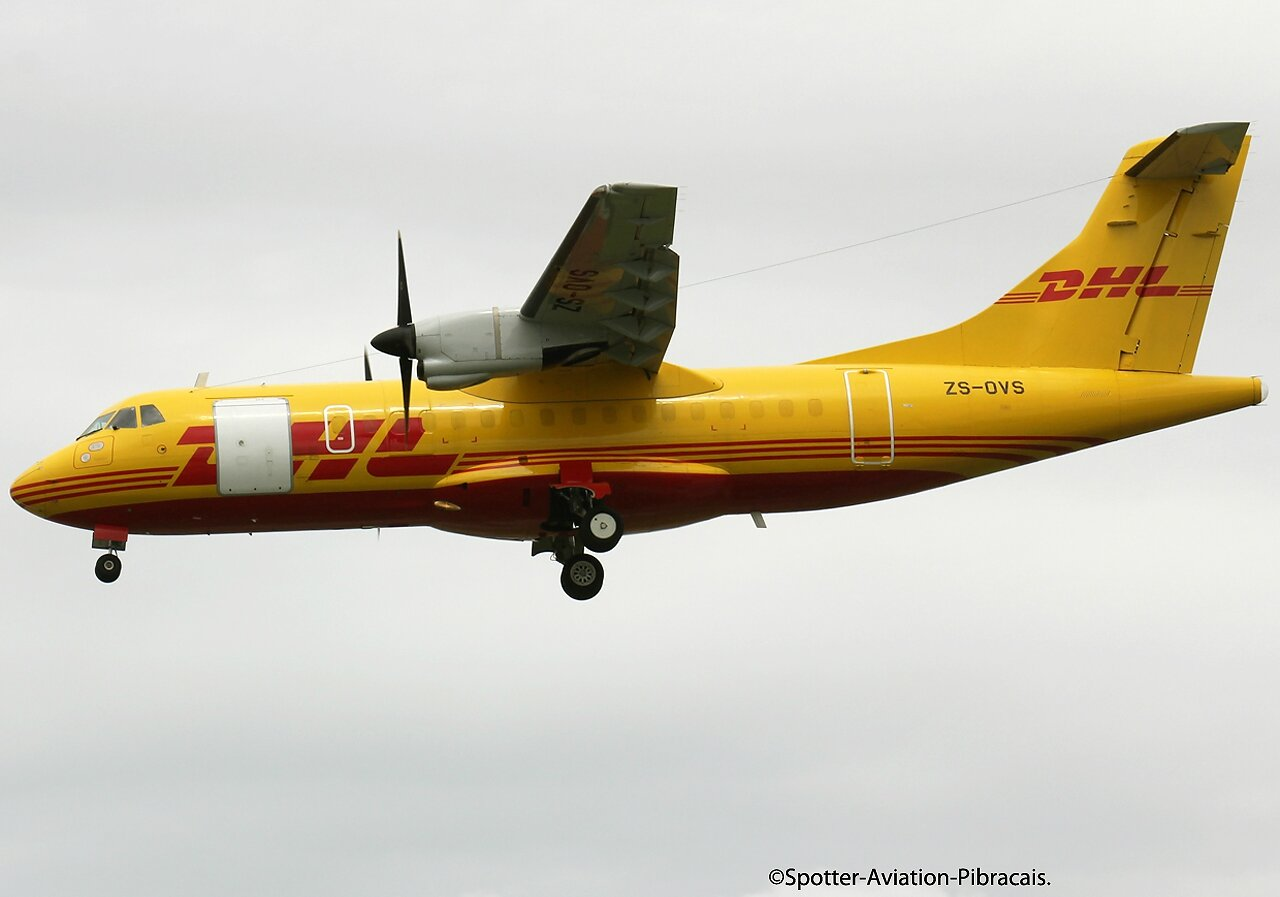 A roport toulouse blagnac dhl solenta aviation atr - Dhl salon de provence ...