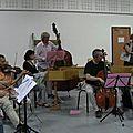 Première répétition avec l'orchestre