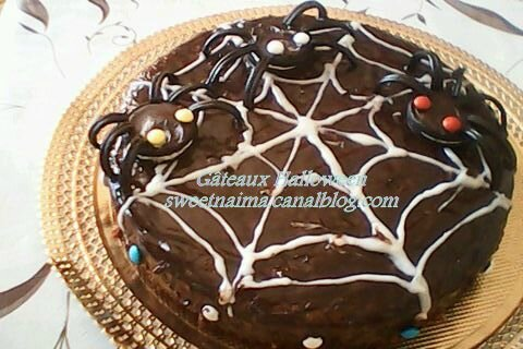 deco gateau halloween facile