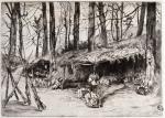 Campement du parc d'Issy (1871), Souvenir du siège de Paris
