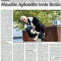 Est Républicain - Le Sang des Sirènes, 14/12/2014