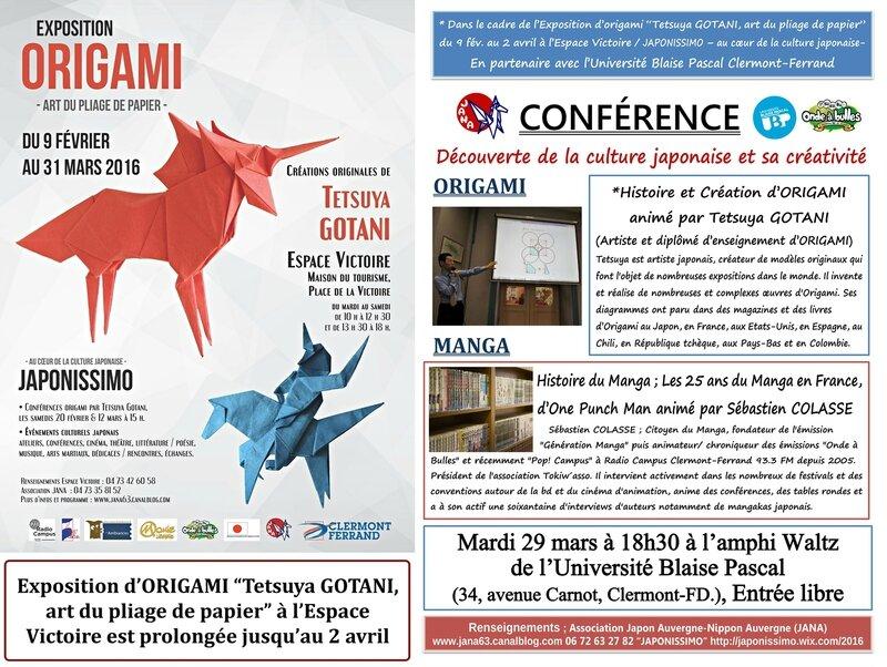Conference Tetsuya GOTANI-Sebastien COLASSE Universite Blaise Pascal 2016