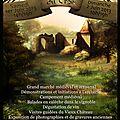 Les journées médiévales du vieux château du cros : 1er et 2 juin à loupiac !