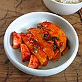 Kimchi de mango