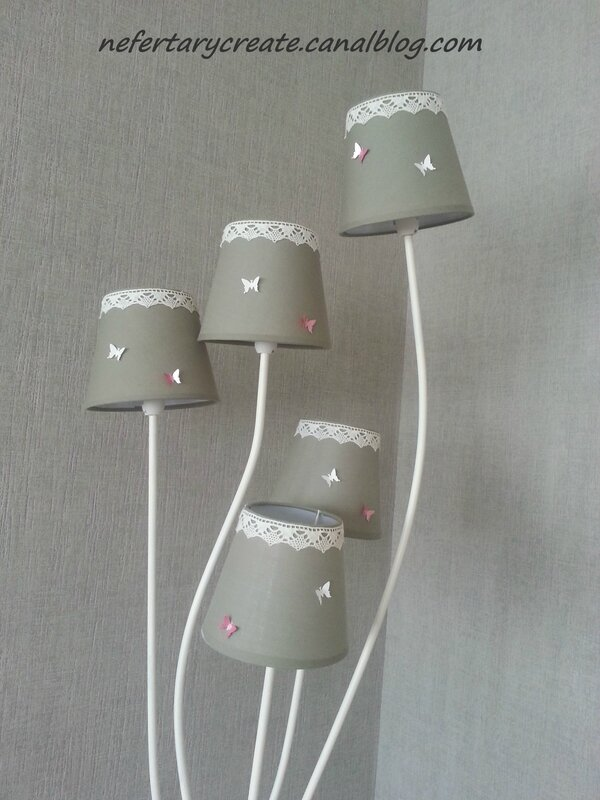 Customisation d'un lampadaire