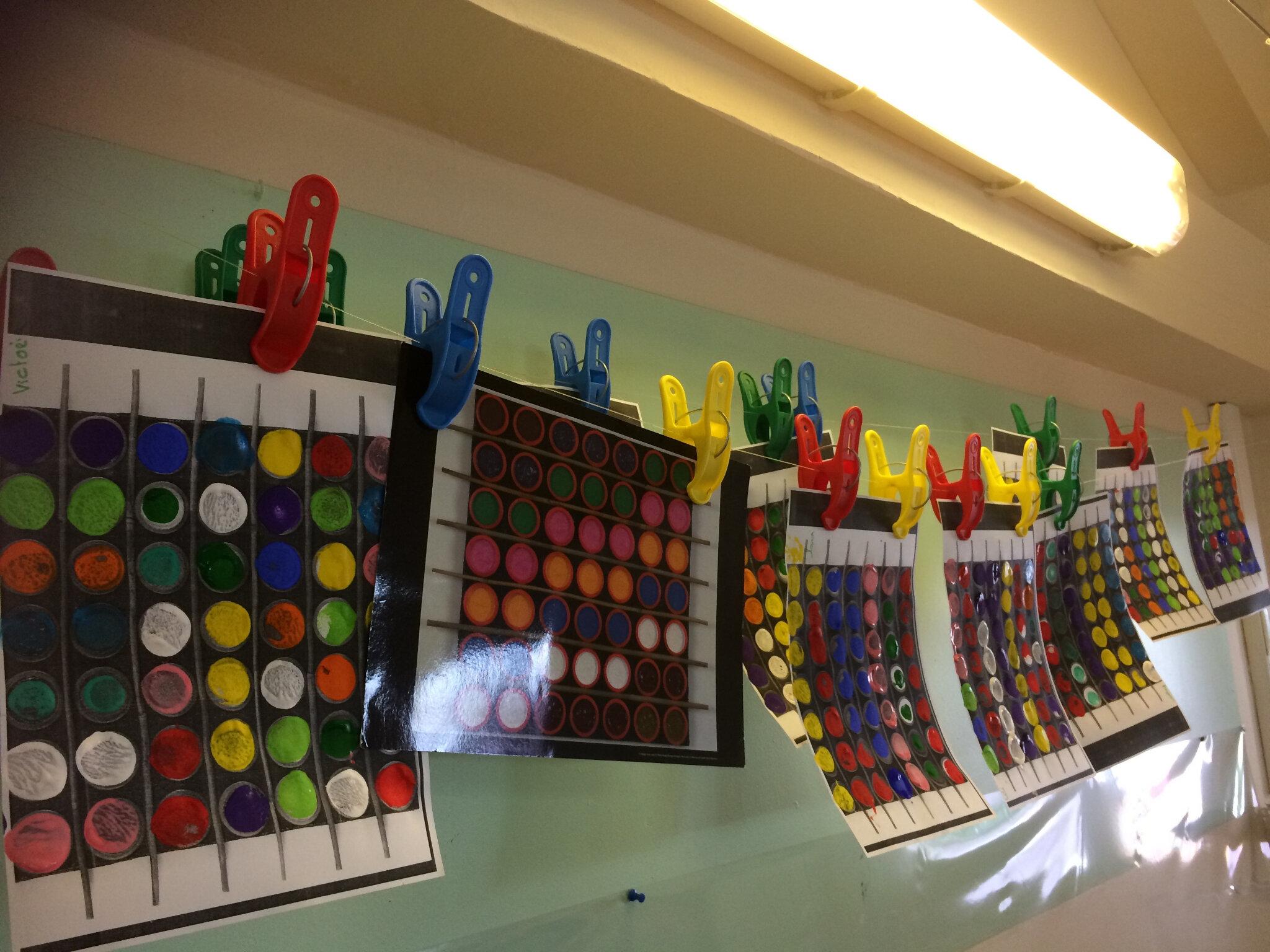 Le rond la maternelle des coquillages - Laisser libre cours a son imagination ...