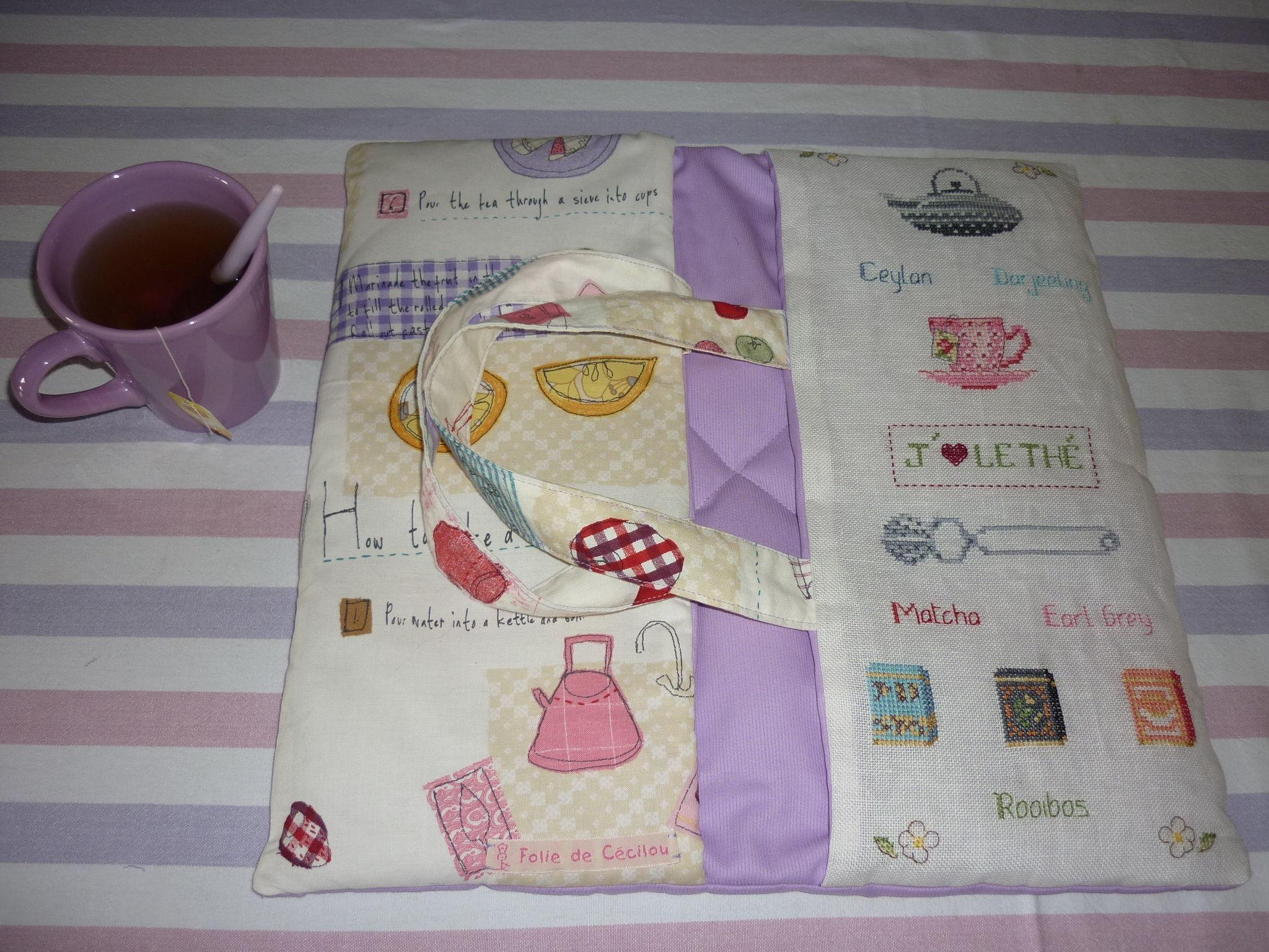 sac à tarte version thé pour Maud