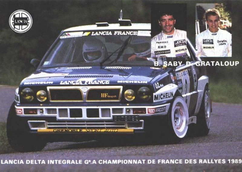 bruno saby lancia championnat de france squadra racing. Black Bedroom Furniture Sets. Home Design Ideas