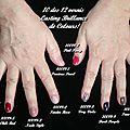 Mes ongles avec les vernis Colours de LR