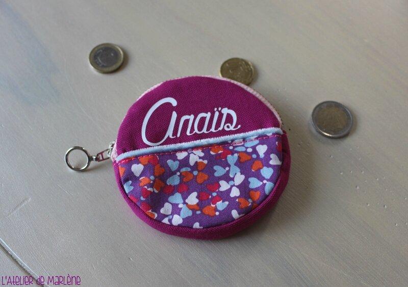 porte monnaie Anais