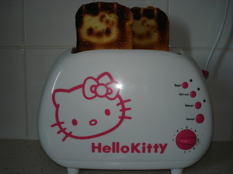 MON GRILLE PAIN HELLO KITTY - MA COLLECTION HELLO KITTY