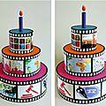 Gâteau d'anniversaire, 18, 20, 21 ANS