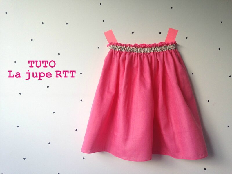 tuto jupe RTT