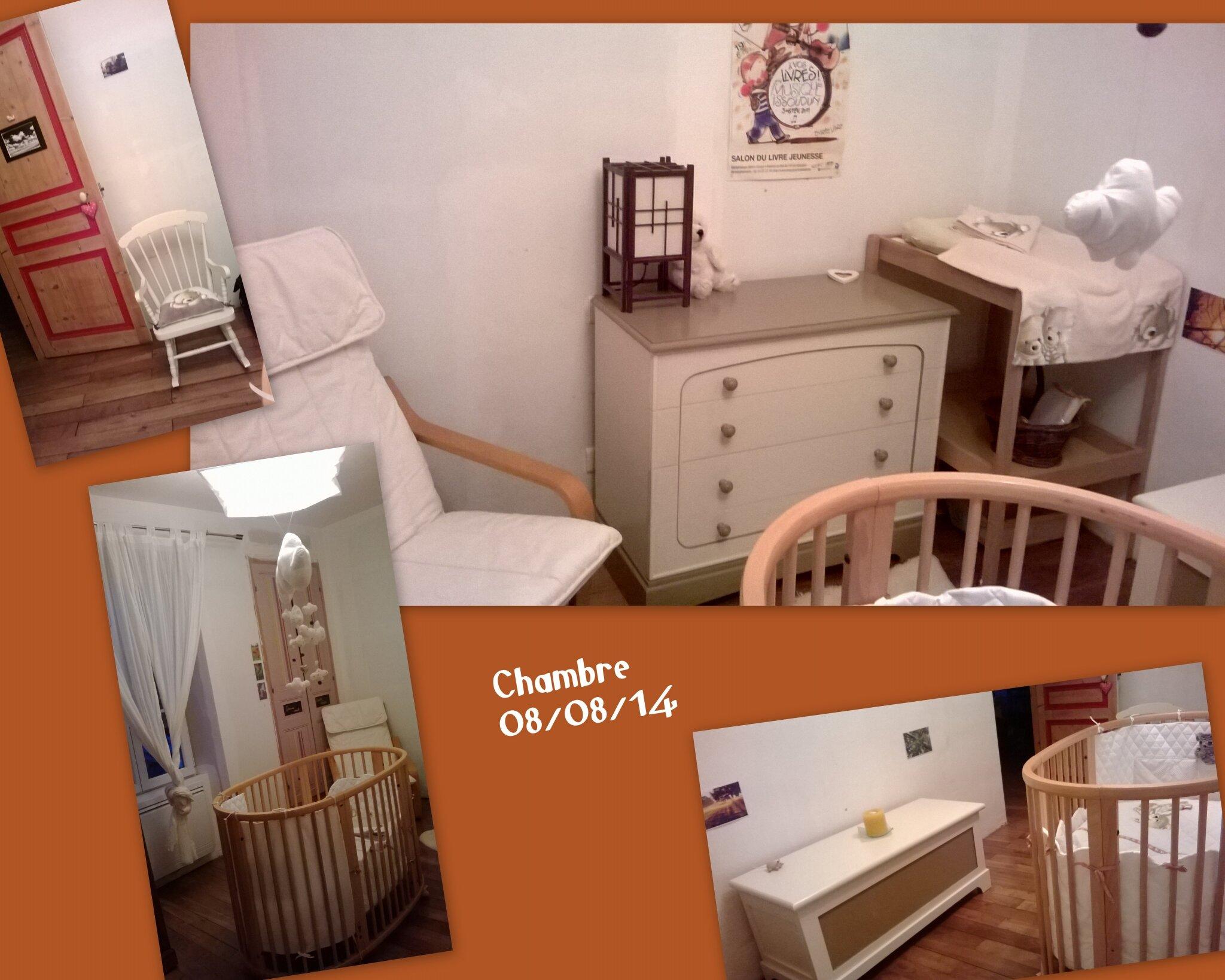 Chambre Orange Et Taupe