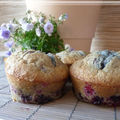 Muffins fruits rouges coco