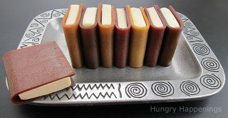 How to make modeling chocolate books using fruit leather