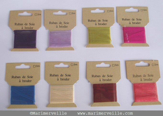 atelier marimerveille rubans de soie