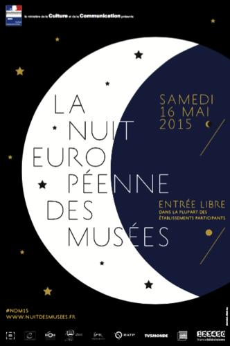 la Nuit européenne des musées samedi 16 mai 2015 - le programme en France et dans le sud Manche