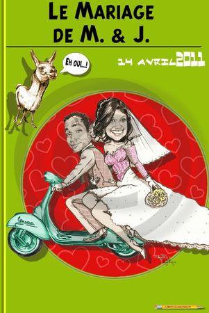faire-part mariage bd bande dessinée