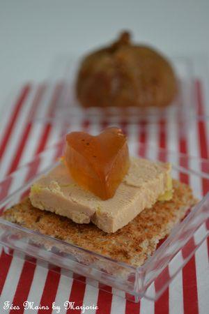 Foie gras coeur gelée Monbazillac1