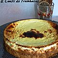 New york cheesecake & son coulis de framboises
