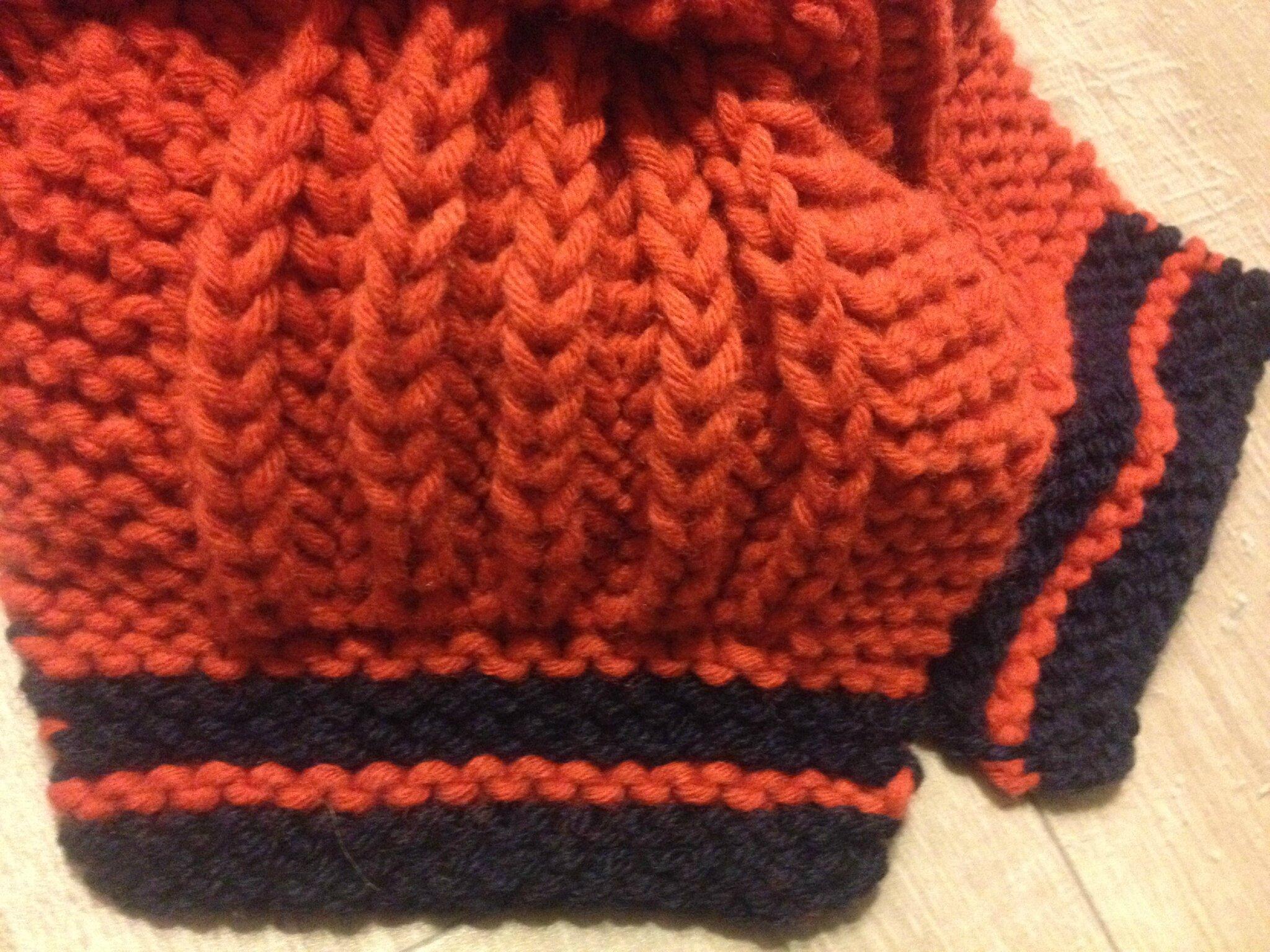 comment tricoter la cote anglaise