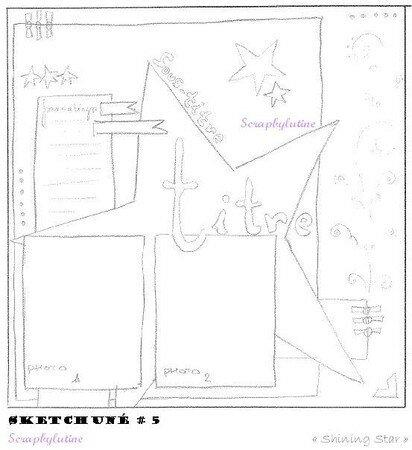 Sketchuné n° 05 - Shining Star