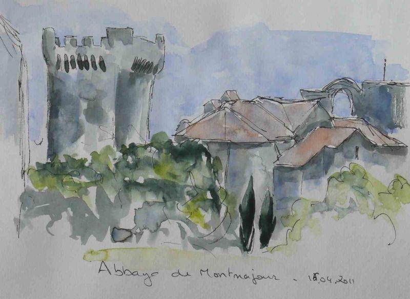 13-Arles Abbaye de Montmajour -2