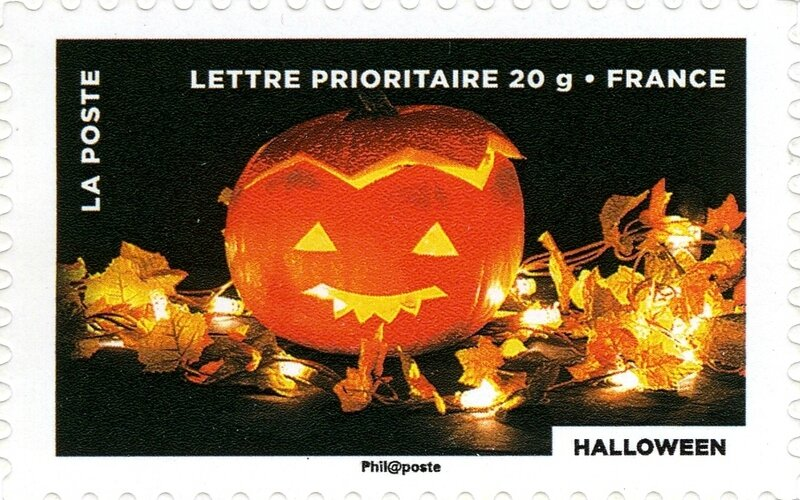 Timbre France 2012 Halloween