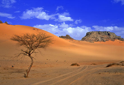 Désert en Afrique