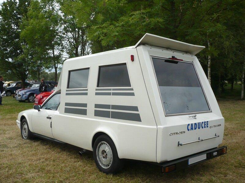 CITROËN CX Tissier ambulance Caducée Madine (2)