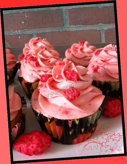 cupcakes pralines roses