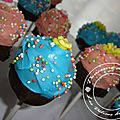Mes cupcake pops