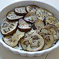 Défi de la semaine n°5 - tarte tatin d'aubergines