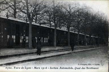 cartes-postales-photos-Foire-de-Lyon--Mars-1916--Section-AutomobileQuai-des-Broileaux-LYON-69003-3828-20070913-b1e7t4w5y9f4d3z5g9w7