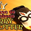Housse de téléphone harry potter