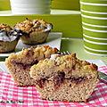 Muffins au goût de brioches à la cannelle, sans gluten et sans lactose