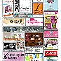 Les partenaires des puces creatives 2014